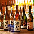 全国の名酒をご用意。単品飲み放題コースもご用意しております!!