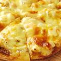 料理メニュー写真シーフードのバーニャカウダーピザ