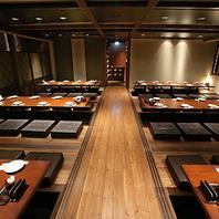仙台駅を一望できる大人気の宴会席は最大26名
