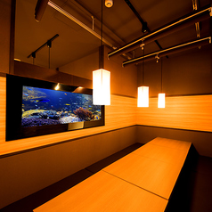 海鮮個室DINING 百々屋 水道橋店の雰囲気1