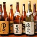 全国から取り寄せた厳選地酒・日本酒