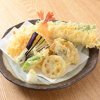 【旬の天ぷら盛りあわせ】