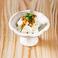 タタキ胡瓜 辛子酢味噌和え/クリームチーズ 青唐醤油がけ