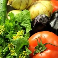 みずみずしい旬の京野菜を使ったお料理の数々