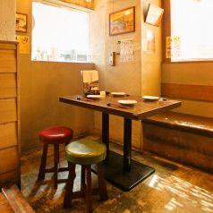 広々スペースを確保したテーブル席です!
