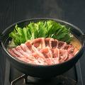 料理メニュー写真地鶏阿波尾鶏すき焼き鍋