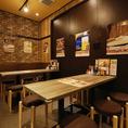 【シックな店内でゆったりお食事を】目黒駅東口徒歩1分なので、お仕事終わりのちょっとした飲み会にも使い勝手抜群の居酒屋です!