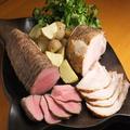 料理メニュー写真ローストビーフorローストポーク