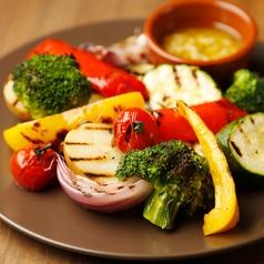 料理メニュー写真窯焼き野菜のバーニャカウダ