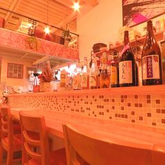 カウンターは6席ございます♪オープンキッチンで広々とした空間です♪