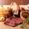 料理メニュー写真ビアスタ特製肉盛り