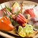 豊洲市場直送の新鮮お刺身!お寿司もあります!