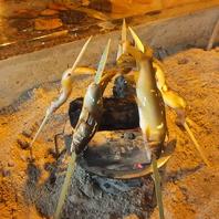 炉端焼き~鮎塩焼き~