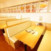 開放感・清潔感のある空間。ご家族・ご友人でランチ、夜ご飯に!