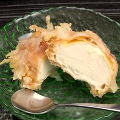 料理メニュー写真アイスの天ぷら