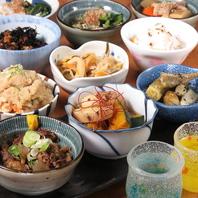 自家製調味料やお出汁をを利かせたお料理◆