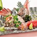 料理メニュー写真海鮮刺身盛り合わせ3種