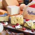 料理メニュー写真3種のチーズケーキセット