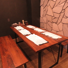 ご家族でのお食事に♪6名様でお座り頂けるテーブル席♪