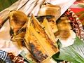 料理メニュー写真筍の焼き物/筍と枝豆の白和え