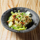 蒸し鶏と担々豆腐麺