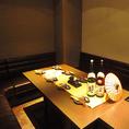 15名様前後でご利用いただけるソファー席の団体個室。多彩な個室席をご用意しております。新横浜でのご宴会に◎皆さんでごゆっくりお楽しみくださいませ!