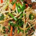料理メニュー写真レバーニラ炒め/鶏肉とカシューナッツ炒め
