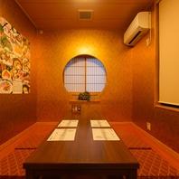 掘りごたつ個室・お座敷個室も完備致しております。