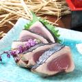 料理メニュー写真鰹の藁焼き塩たたき