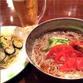料理メニュー写真韓国風レーメン