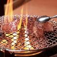 炭火でジューシー焼肉