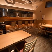 落ち着いたゆったりとした空間で…お食事を楽しめます♪