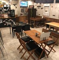 ランチカフェではコーヒーおかわり自由で低価格提供中!