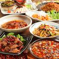 天天酒家自慢のお料理の数々を一挙にお愉しみいただける飲放題付きコースも。各種ご宴会や飲み会に最適です。詳しくはコースページをご覧ください。