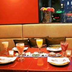 ラグジュアリーなアジアン空間♪気軽に贅沢な雰囲気を味わえるお店です。