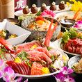 飲み放題付コースは2480円~創作和食をお酒とともにお得にお愉しみください。