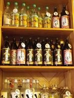 種類豊富な地酒の品揃えも自慢のひとつ★