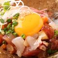 料理メニュー写真本日の海鮮ユッケ