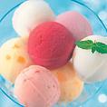 【アイスも食べ放題】6種類のアイスが食べ放題♪お子様だって楽しめます♪