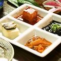 料理メニュー写真琉球珍味4点盛り合わせ