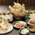 料理メニュー写真 「活タラバガニ」おひとり様600g~コース(ライブパフォーマンス付) 【3名様より承ります】