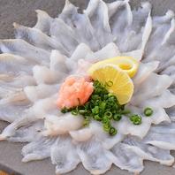 ふぐちり鍋やカニづくしコースなど!鮮魚居酒屋のコース