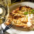 料理メニュー写真大山鶏ももの皮パリ焼き