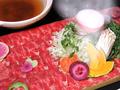料理メニュー写真牛タンしゃぶしゃぶ~桜島盛り~ 一人前