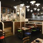 仕切られたテーブル席はプライベート空間にも!デートや少人数でのお食事に最適です◎