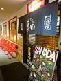 いらっしゃいませ!「元祖関西風味もんじゃ焼真田橿原店」です!写真入りの看板メニューで、待ち時間もメニューを見ながら過ごせます。