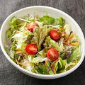 料理メニュー写真季節野菜の和風サラダ