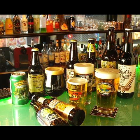 ベルギービールもちろん、今話題のアメリカンクラフトビール他世界各国のビールが集合
