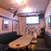 各種コンパ、女子会などに人気の完全ソファ個室。カラオケ&グッズ貸出無料