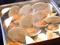 料理メニュー写真白大ハマグリのカンカン焼き(1kg)